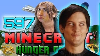 Minecraft: Hunger Games w/Mitch! Game 597 - CHEEKY DEATHMATCH