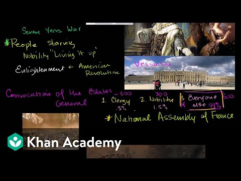 French Revolution Part 1 Video Khan Academy