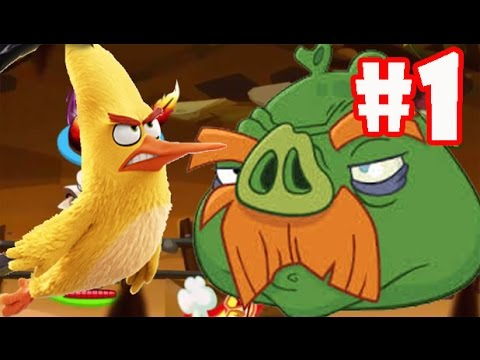 Angry Birds Epic ♥ Gameplay Walkthrough (iOS, Android) ♥ Boss In Cave Part 1