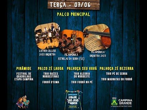 TV Junina ao vivo do Parque do Povo - 07/06/2016