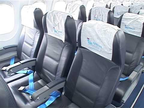 Встреча нового самолета Ан 148 (видео)