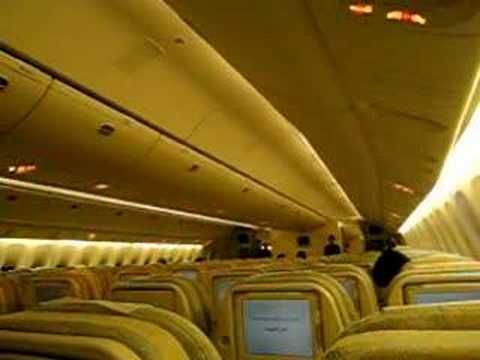 Etihad Airways Departure Announcement (Captain)