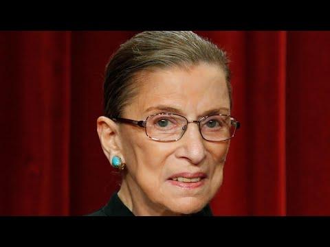 Justice Ruth Bader Ginsburg back home after fall
