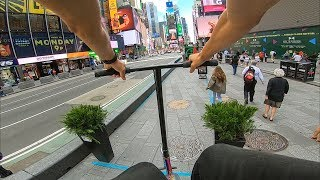 GoPro Scooter Riding NYC 2