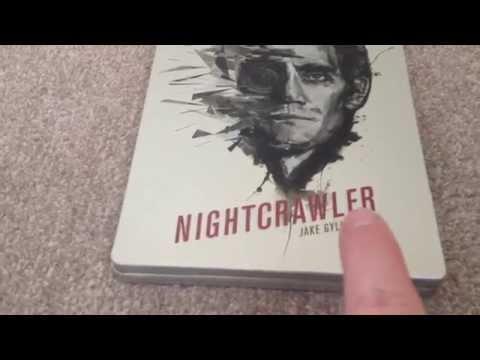 Nightcrawler (HMV & eONE exclusive) Blu-Ray steelbook unboxing