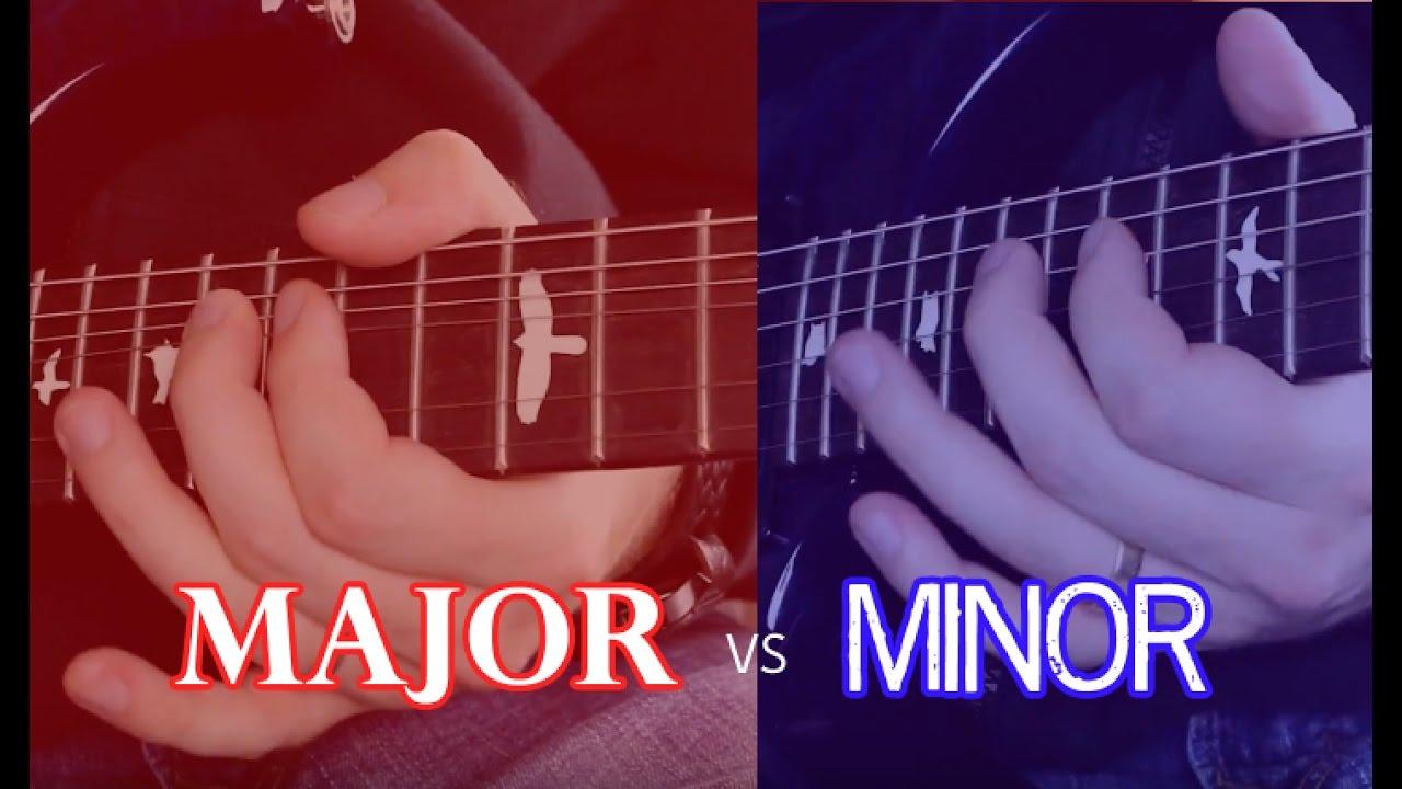 Major vs Minor Pentatonic Scale Approaches