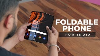 The First Budget Foldable Smartphone For India!