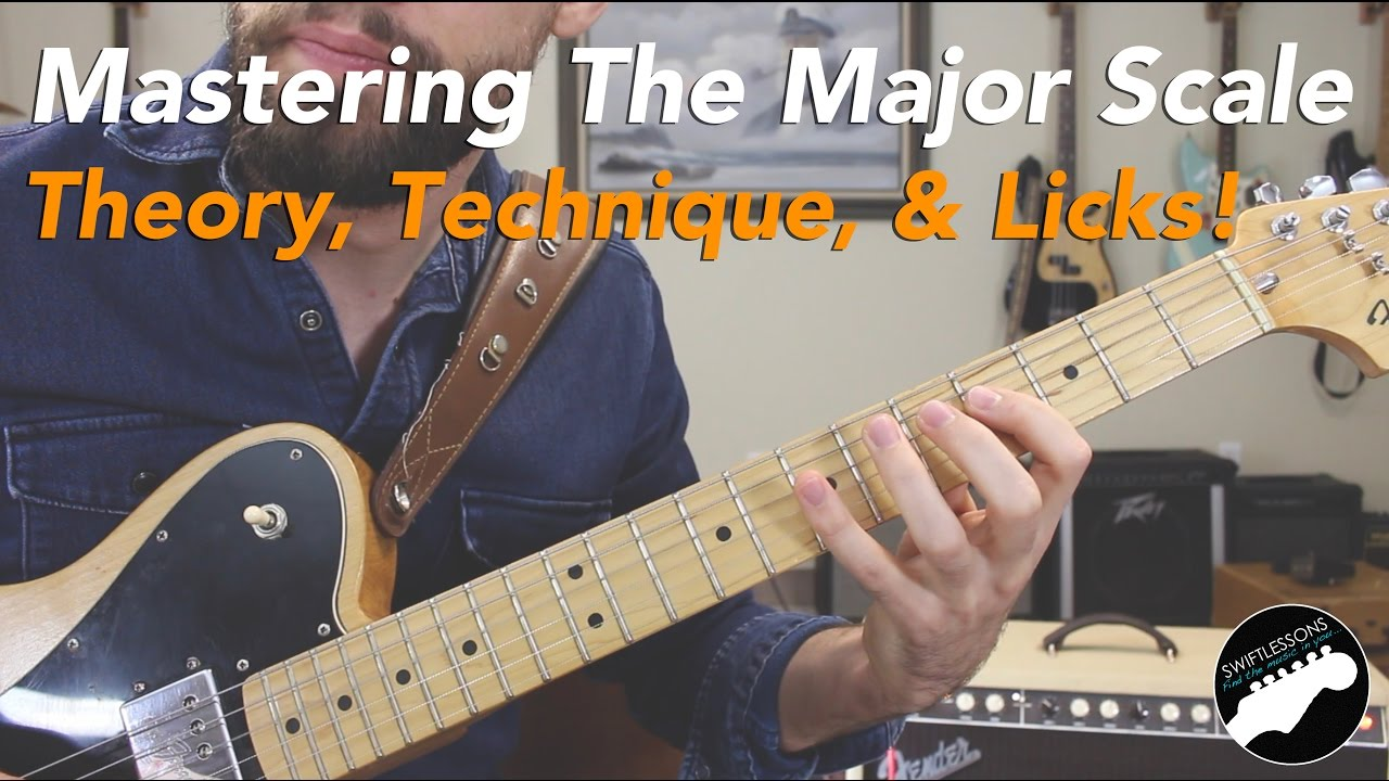 Mastering the Major Scale – Guitar Theory, Technique, and Licks!