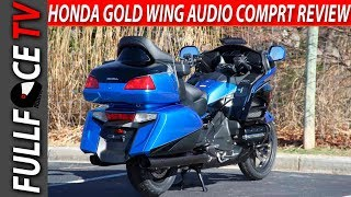 8. 2017 Honda Gold Wing Audio Comfort Specs Review