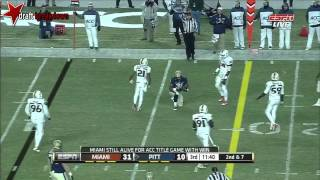 Tom Savage vs Miami (2013)