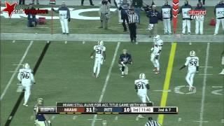 Tom Savage vs Miami (2013)
