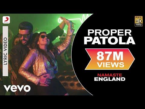 Download Proper Patola - Lyric Video | Arjun & Parineeti | Badshah Diljit Aastha