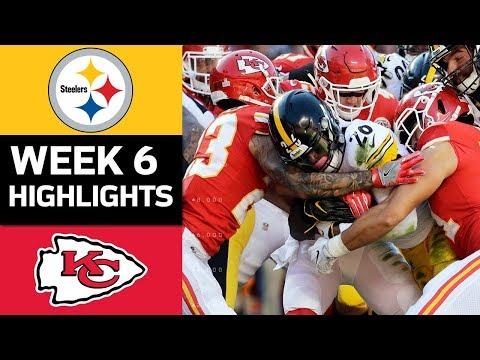 Video: Steelers vs. Chiefs | NFL Week 6 Game Highlights