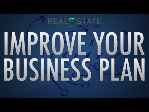 3 Simple Ways to Improve Your Business Plan