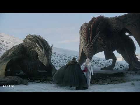 Game Of Thrones | Jon Snow Ejderhaya Biniyor