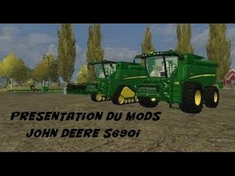 Présentation d'un Mods John Deere S690I Dans Farming Simulator 2013.