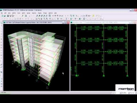 ETABS TUTORIAL - Video 19 - Continuacion del Edificio de Hormigon Armado de 8 Niveles (видео)