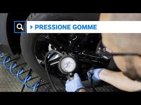 Come misurare la pressione delle gomme
