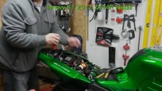 INNOVV K1 Kawasaki ZX14R Install
