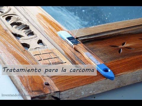 C mo eliminar la carcoma paso a paso bricolaje - Como eliminar la carcoma de la madera ...