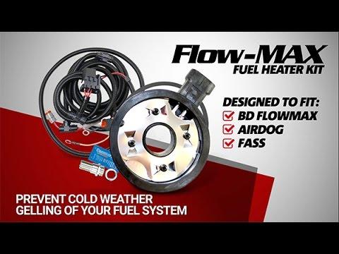 BD Diesel FlowMax Fuel Heater Kit