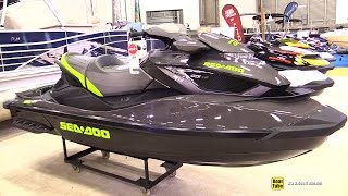 6. 2015 Sea Doo GTX Limited Jet Ski - Walkaround - 2015 Quebec Boat Show