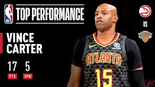 Vince Carter drops 17 PTS in win (14 in 2ND QUARTER)! by NBA