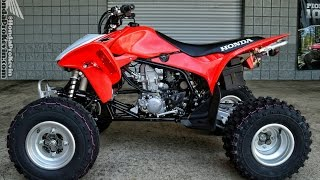 6. 2014 Honda TRX450R Race / Sport ATV | Quad Walk-Around Video  (TRX450ER)
