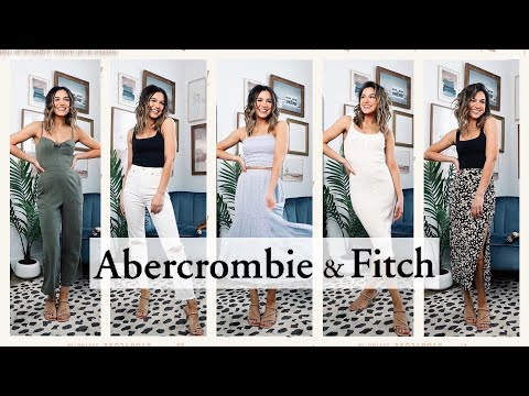 ABERCROMBIE SPRING TRY-ON HAUL! | 2020