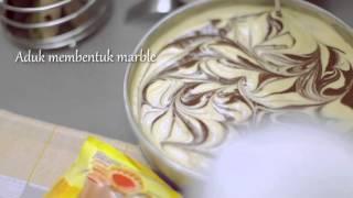 Kue Marble - Cara membuat Candy Pop Marble - Blue Band 2013