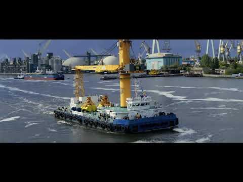 Водне шоу НІБУЛОНівського флоту, яке відбулося 20 вересня на міжнародному форумі TRANS EXPO ODESA MYKOLAIV 2019 в Миколаєві