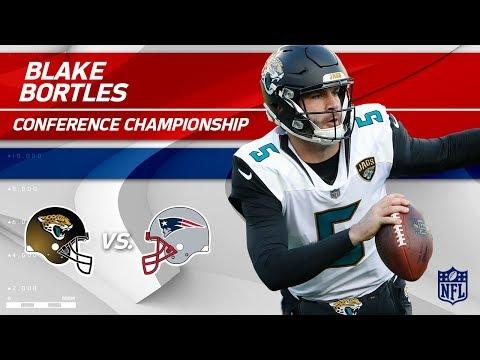 Video: Blake Bortles AFC Championship Highlights | Jaguars vs. Patriots | Player HLs