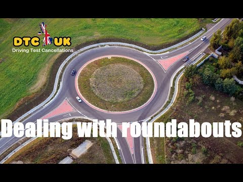 Unknown Secret - How to deal with Roundabouts   DTC-UK   Driving Test UK
