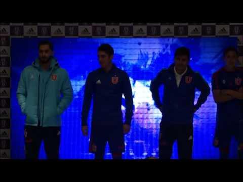 [Video] Adidas presentó nueva camiseta de U. de Chile