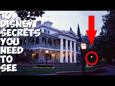 10 Rare Disneyland Secrets You Need To See