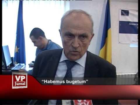 """Habemus bugetum"""