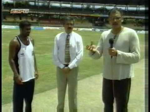 Ian Chappell discussing the SL team in 1996