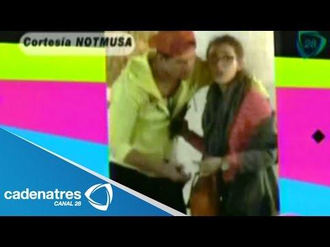 Eleazar Gómez y Danna Paola pelean afuera de un cine