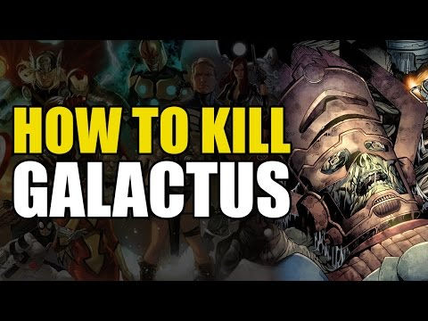 How To Kill Galactus (How To Kill Superheroes)