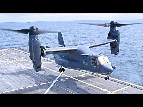 Watch the very cool V22 Osprey...