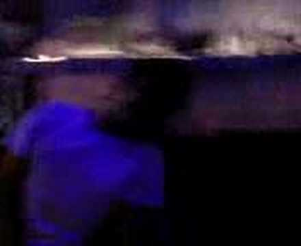 quick glimpse of black and white night club