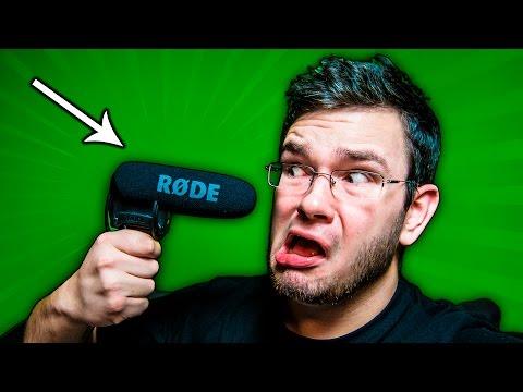 🎤 NAJLEPSZY MIKROFON KIERUNKOWY - Test RODE VideoMic PRO Rycote!