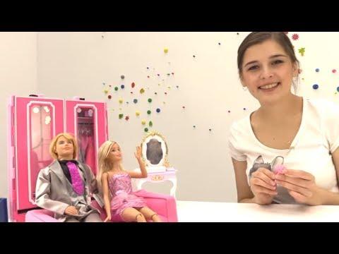Куклы: БАРБИ делает уборку. Видео для девочек. КЕН в гостях у Барби. Видео про кукол (видео)