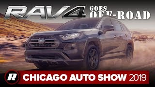 2020 Toyota RAV4 TRD Off-Road gets dirty | Chicago 2019 by Roadshow