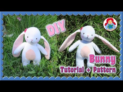 DIY   Bunny (Pattern of the Month March 2017) • Sami Doll Tutorials