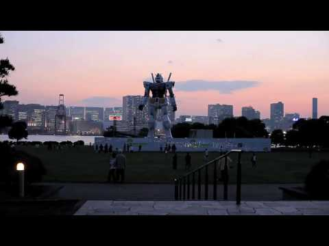 Video of the Life Size Gundam