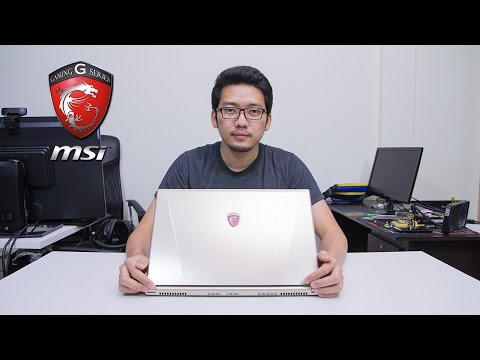 รีวิว: MSi GS60 2QE Ghost Pro 3K Gold Edition