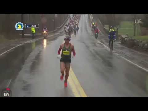 Boston Marathon 2018 - Yuki Kawauchi Highlights