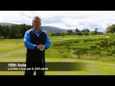 Ryder Cup Course 2014 – Gleneagles: Hole 16