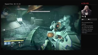 Live stream on this channel for Destiny Sub, comment